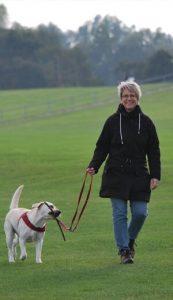 Women-walking-with-dog